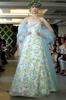 Свадебное платье в русском народном и европейском стиле.