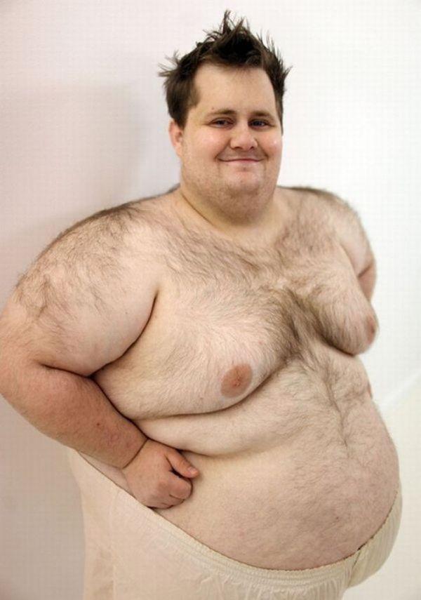 Очень жирные мужики