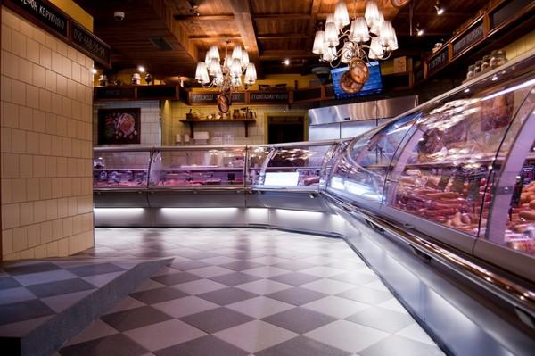 Что представлено в мясном магазине Укрпромпостач