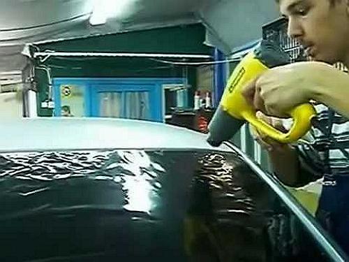 Как затонировать заднее стекло Ваз 2107